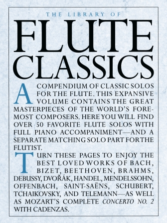Product Cover for The Library of Flute Classics