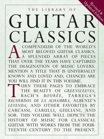 Product Cover for Library of Guitar Classics