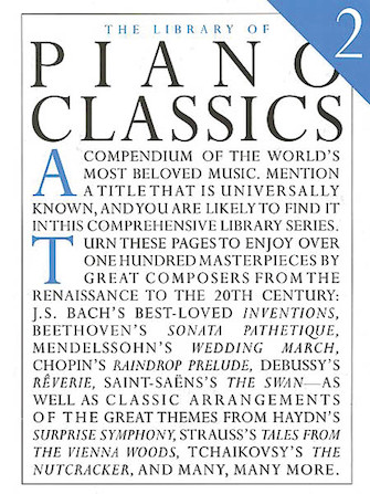Product Cover for Library of Piano Classics 2