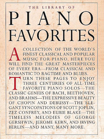 Product Cover for Library of Piano Favorites