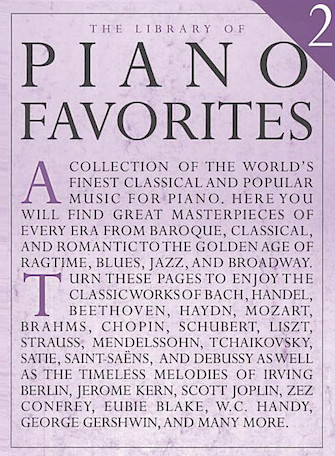 Product Cover for Library of Piano Favorites – Volume 2