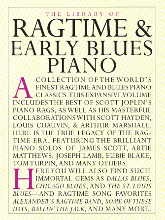 Product Cover for The Library of Ragtime and Early Blues Piano