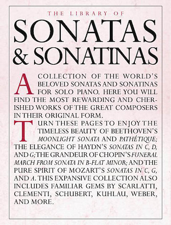 Product Cover for The Library of Sonatas and Sonatinas