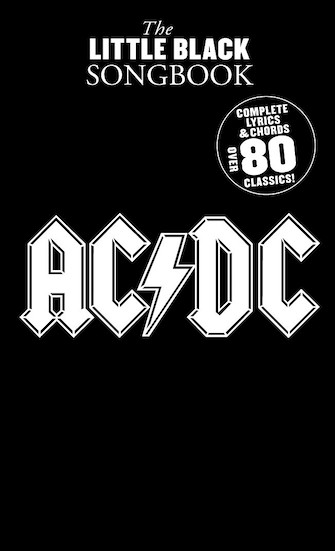 Product Cover for The Little Black Songbook of AC/DC