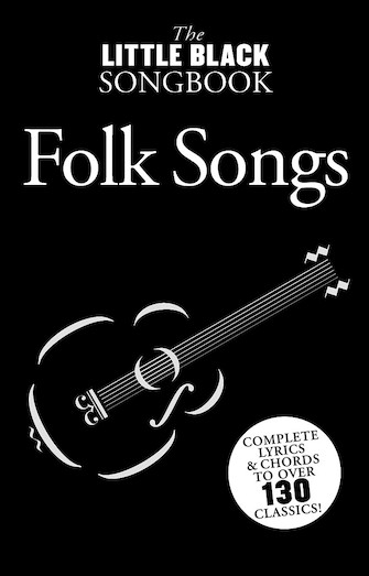 Product Cover for Little Black Songbook of Folk Songs
