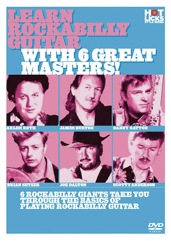 Product Cover for Learn Rockabilly Guitar with 6 Great Masters!