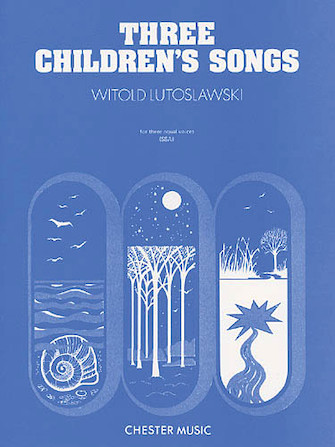 Product Cover for Three Children's Songs