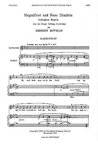 Product Cover for Magnificat and Nunc Dimittis (Collegium Regale)