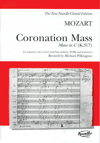 Product Cover for W.A. Mozart: Coronation Mass: Mass In C K.317 (Vocal Score)