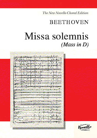 Product Cover for Missa Solemnis (Mass in D)