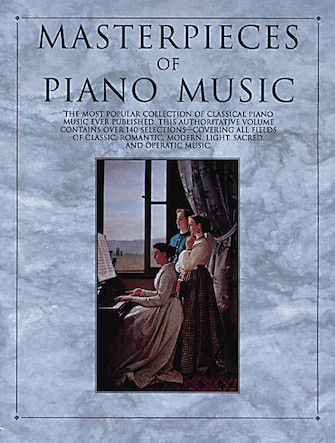 Product Cover for Masterpieces of Piano Music