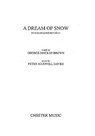 Product Cover for A Dream of Snow