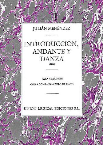 Product Cover for Julian Menendez: Introduccion Andante Y Danza Clarinet and Piano