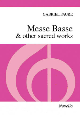 Product Cover for Messe Basse & Other Sacred Works