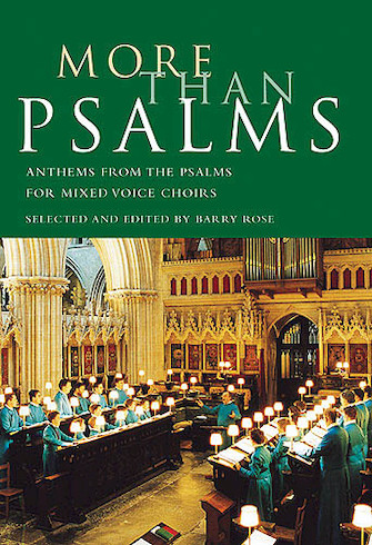 Product Cover for More Than Psalms
