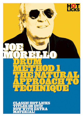 Product Cover for Joe Morello – Drum Method 1: The Natural Approach to Technique