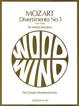 Product Cover for Divertimento No. 3 from K439b