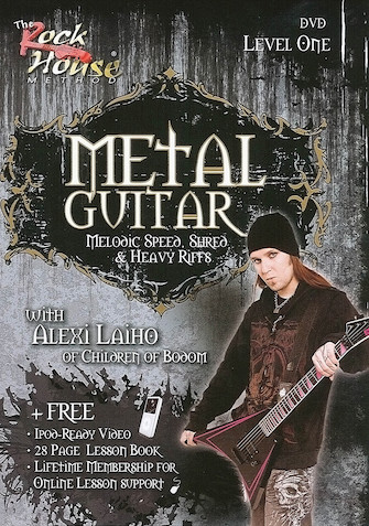 Product Cover for Alexi Laiho of Children of Bodom – Metal Guitar
