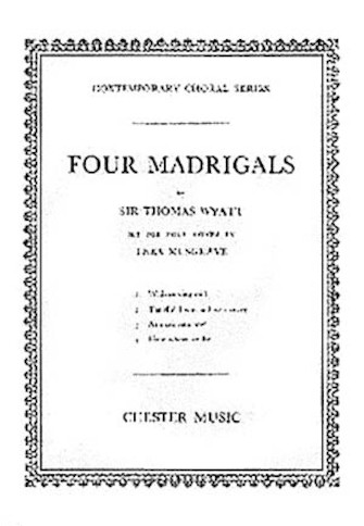 Product Cover for Four Madrigals