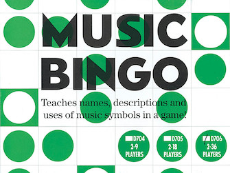Product Cover for Music Bingo (2-36 Players)