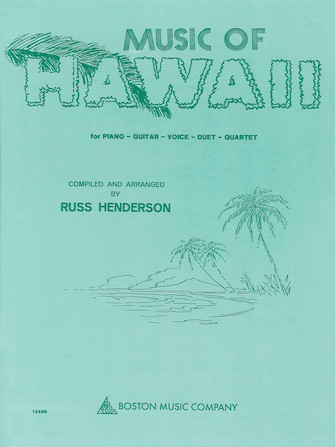 Product Cover for Music of Hawaii