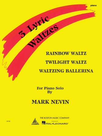Product Cover for Mark Nevin – Three Lyric Waltzes