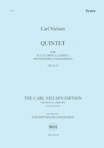 Product Cover for Quintet for Wind Op. 43