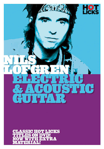 Nils Lofgren – Electric & Acoustic Guitar