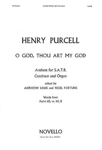 Product Cover for O God, Thou Art My God