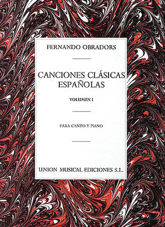Product Cover for Canciones Clasicas Españolas – Volumen I
