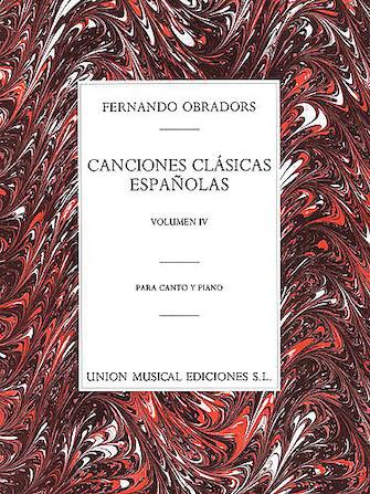 Product Cover for Canciones Clasicas Españolas – Volumen IV