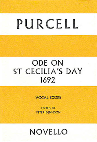 Product Cover for Ode on St Cecilia's Day