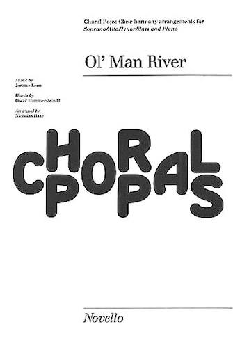 Ol' Man River : SATB : Nicholas Hare : Jerome Kern : Show Boat : Sheet Music : 14023962 : 884088432812