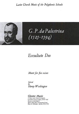 Product Cover for Exsultate Deo