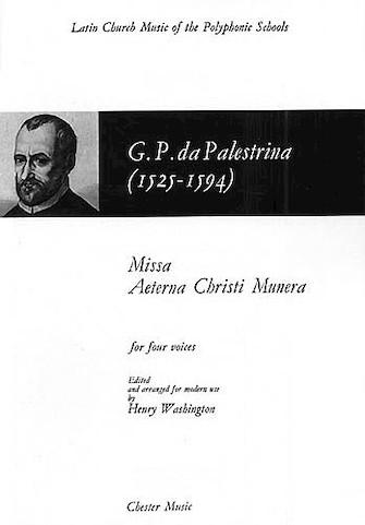 Product Cover for Missa Aeterna Christi Munera