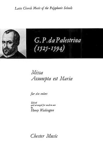 Missa Assumpta Est Maria : SSATTB : Giovanni Pierluigi da Palestrina : Giovanni Pierluigi da Palestrina : Sheet Music : 14024887 : 884088427986 : 0711924554