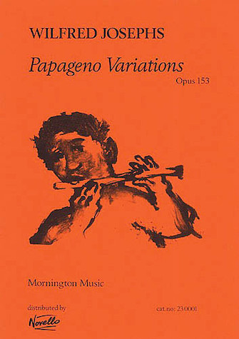 Product Cover for Wilfred Josephs: Papageno Variations Op.153 (Score)