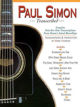 Product Cover for Paul Simon – Transcribed