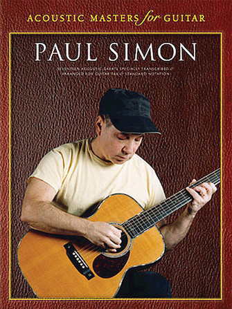 Product Cover for Paul Simon – Acoustic Masters for Guitar