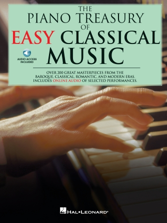 Product Cover for The Piano Treasury of Easy Classical Music