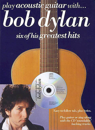 Product Cover for Play Acoustic Guitar with ... Bob Dylan