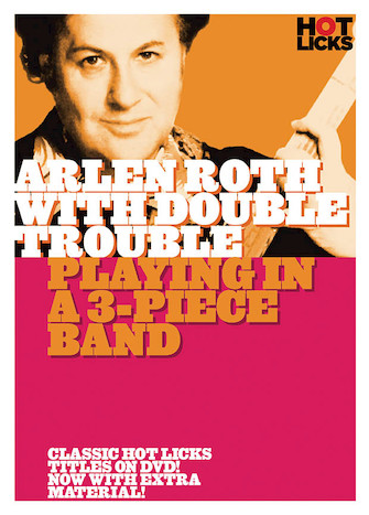 Product Cover for Arlen Roth with Double Trouble – Playing in a 3-Piece Band