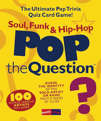 Product Cover for Pop the Question – Soul, Funk & Hip Hop