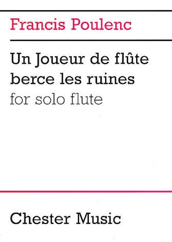 Product Cover for Francis Poulenc: Un Joueur De Flute Berce Les Ruines For Solo Flute