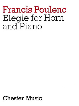 Product Cover for Elegie for Horn and Piano
