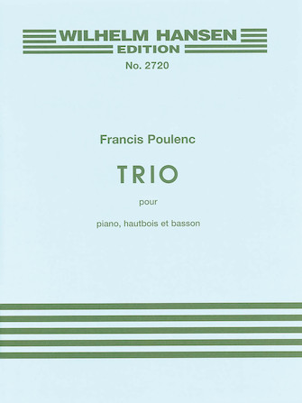 Product Cover for Trio for Piano, Oboe and Bassoon