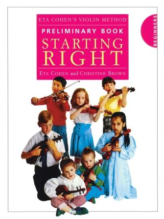 Product Cover for Eta Cohen's Violin Method – Preliminary Book