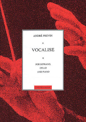 Product Cover for Vocalise for Soprano, Cello and Piano