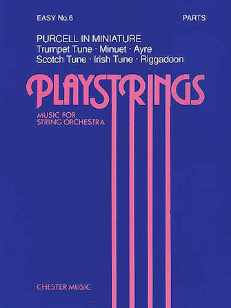Product Cover for Playstrings Easy No. 6 Purcell In Miniature