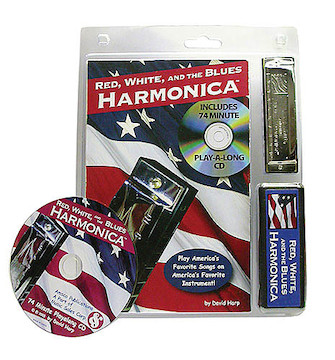 Product Cover for Red, White, and the Blues Harmonica